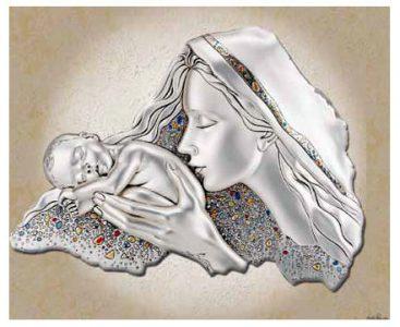 Obraz Matka Boska 51x31 cm