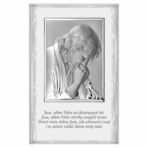 Obrazek 9x14 cm na białym drewienku