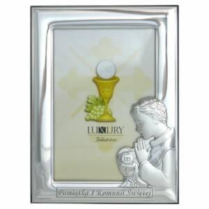 Ramka Komunia Chłopiec 10x15 cm